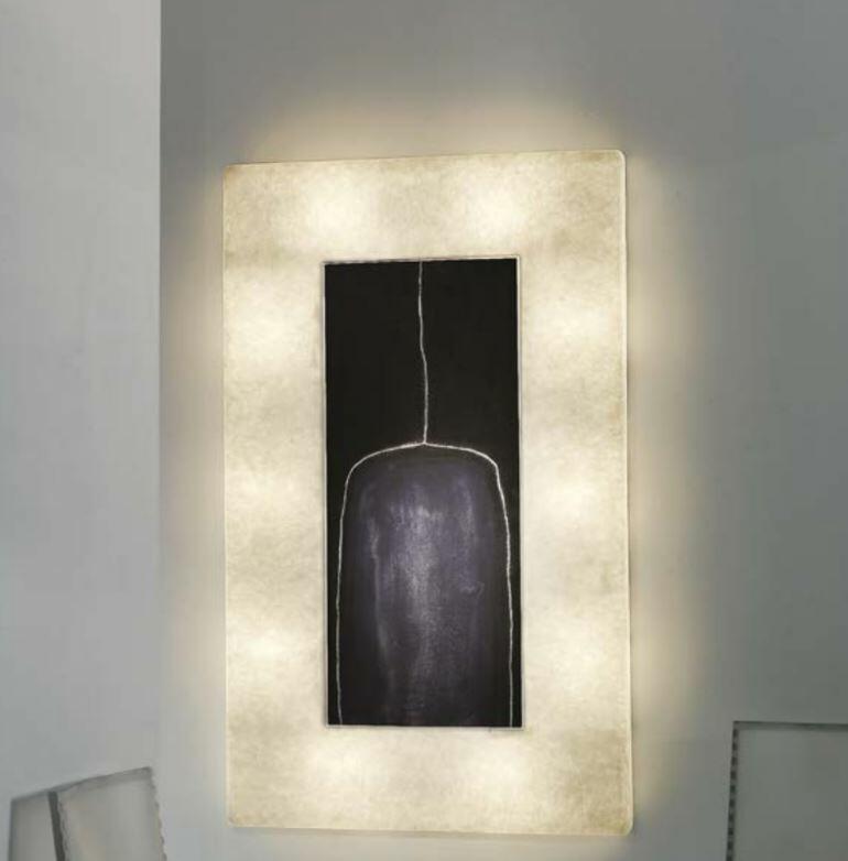 Quadro Luminoso Lunar Bottle 2 Collezione Luna di In-es.artdesign - Offerta di Mondo Luce 24