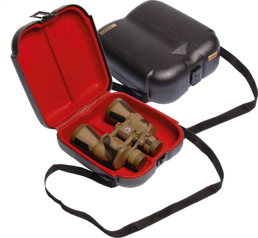 Valigetta in abs porta binocolo con tracolla cm.21,5x22x8