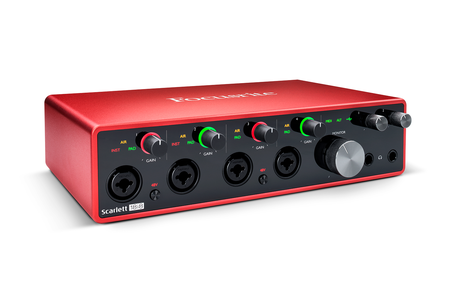 Focusrite Scarlett 18i8 3nd Gen.