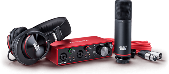 Focusrite Scarlett 2i2 Studio 3nd Gen.