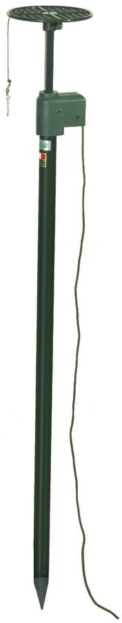 Stantuffo per colombaccio vivo in alluminio verniciato cm. 90
