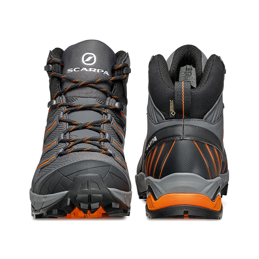SCARPA - Maverick Mid GTX - Dark Gray-Orange