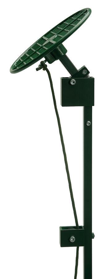 Ribaltina per colombaccio vivo in alluminio verniciato altezza cm.55