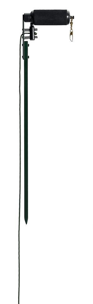 Rullo per colombaccio vivo in alluminio verniciato altezza cm.55