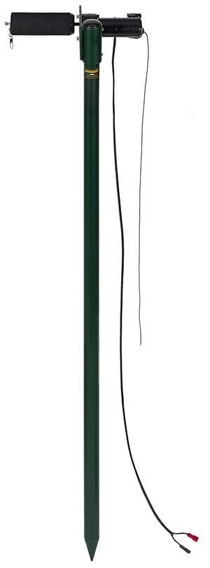 Rullo elettrico per colombaccio vivo in alluminio verniciato altezza cm.75