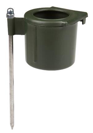 Porta beverino singolo da abbinare al girello per colombaccio vivo