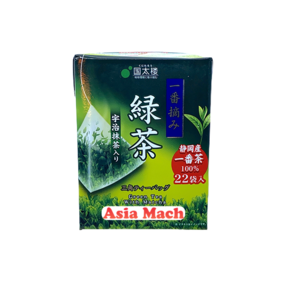 KUNITARO GREEN TEA WITH MATCHA (22P) 39.6GR