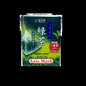 KUNITARO GREEN TEA WITH MATCHA (22P) 39.6GR