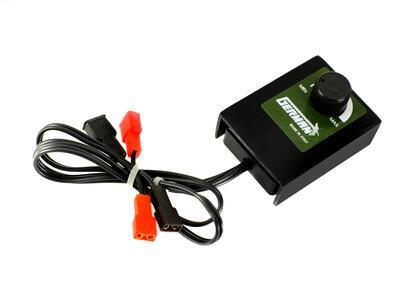 Variatore di velocità per alimentazione 6 o 12 volt., adatto per motori con assorbimento massimo 3 ah.