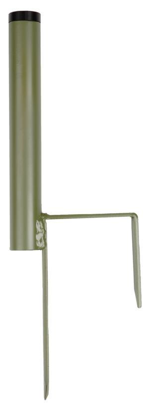 Supporto per pali o stantuffi per colombacci con boccola di riduzione