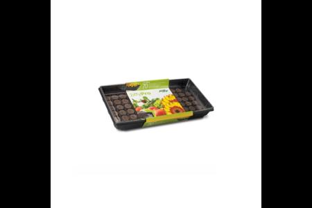 Maxi-serra con 70 pastiglie di torba compressa Jiffy-7