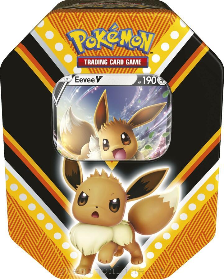 Tin da Collezione V Powers EEVEE - Pokemon 210-60086 - 6+ anni