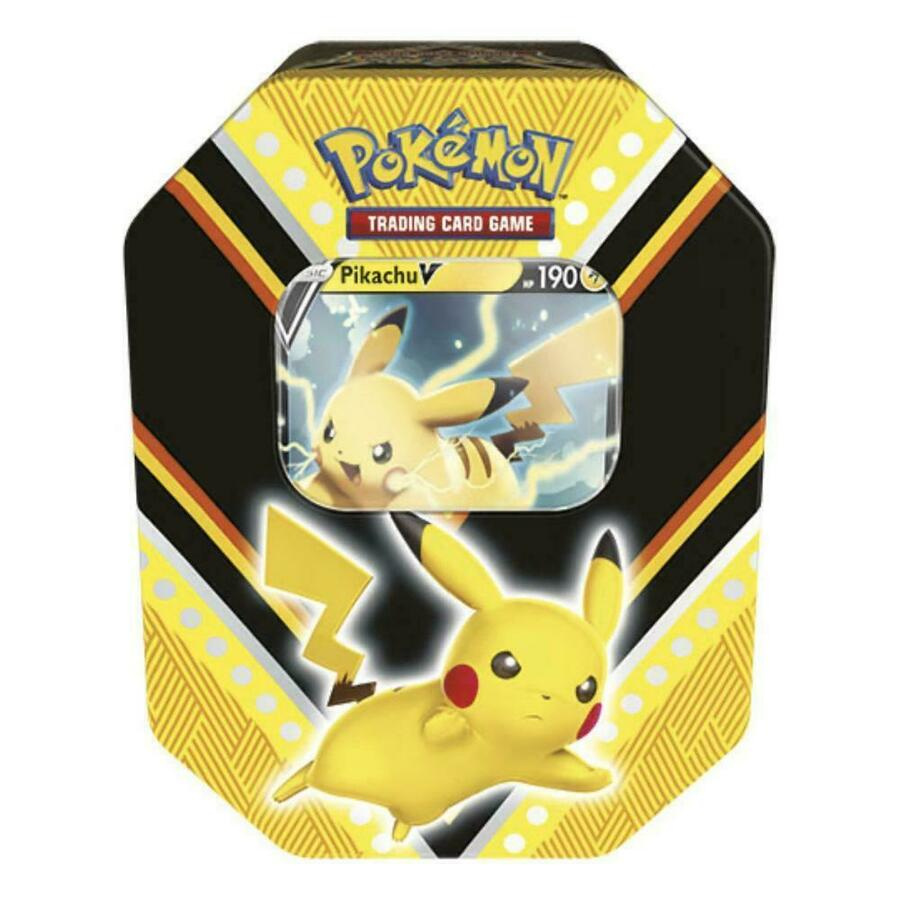Tin da Collezione V Powers PIKACHU - Pokemon 210-60086 - 6+ anni