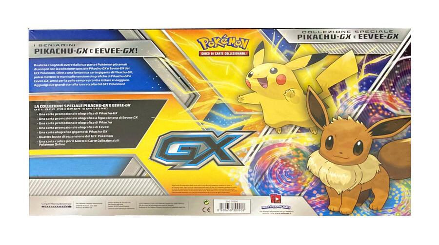 Collezione Spaeciale Pikachu-GX e Eevee-GX - Pokemon 290-30990 -6 + anni