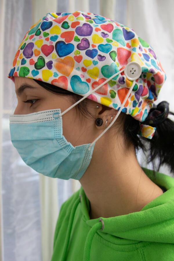 Cuffia chirurgica  fantasia 038 (LH)