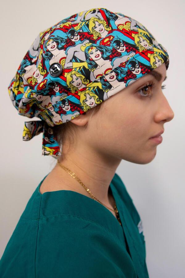 Cuffia chirurgica  fantasia 036 (LH)