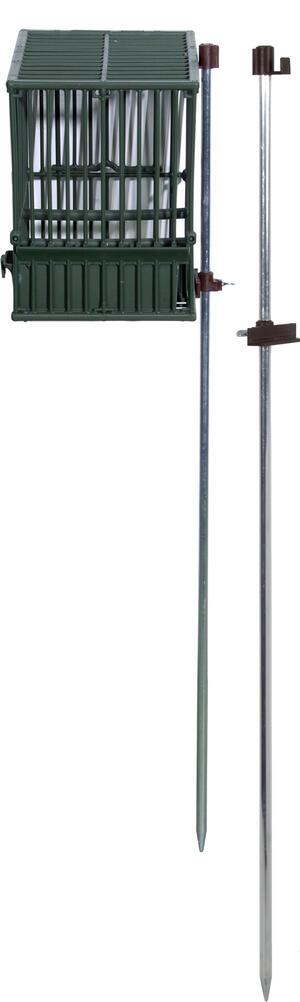 Paletto porta gabbia in alluminio