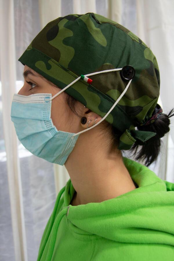 Cuffia chirurgica  fantasia 024 (LH)