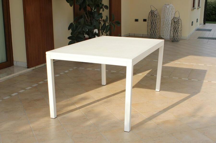 Offerta! 🚨 Tavolo da giardino SOAVE in alluminio 150 x 90 ...