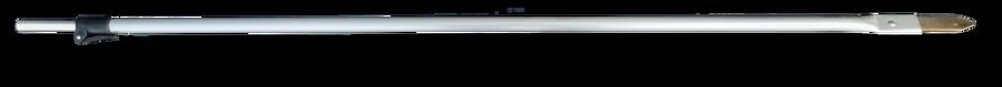 Paletto telescopico in alluminio