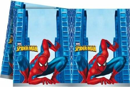 TOVAGLIA IN PLASTICA SPIDER-MAN 120 X180 CM DECORATA PARTY