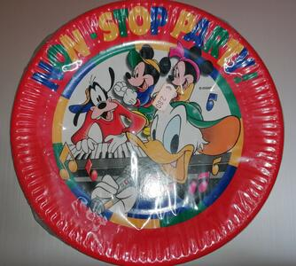 10 PIATTI DI CARTA MICKEY FOR KIDS BIBO