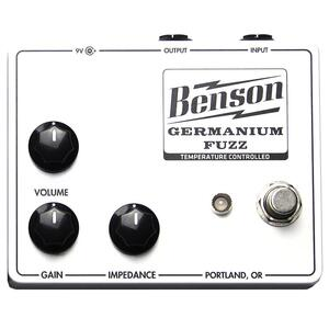 Germanium Fuzz Solar White - Benson Amps