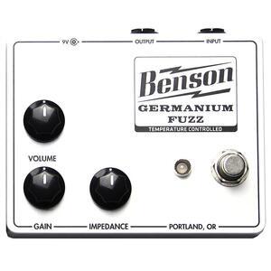 Germanium Fuzz Solar White - Benson Amps