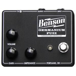 Germanium Fuzz Studio Black - Benson Amps