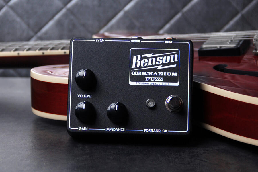 Germanium Fuzz Studio Black - Benson Amps