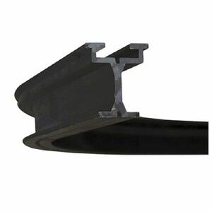 WENTEX EUROTRACK - CORNER 90° - BLACK R=1000mm - stop 200mm