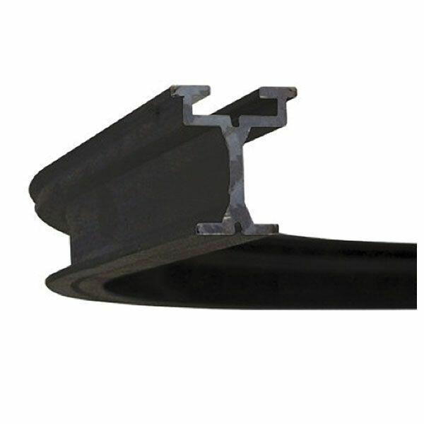 WENTEX EUROTRACK - CORNER 90° - BLACK R=1000mm - stop 200mm