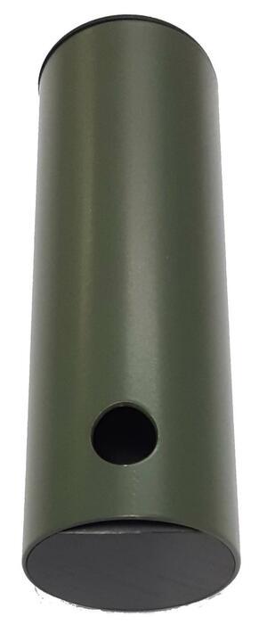 Richiamo colombaccio in alluminio verniciato cm.12