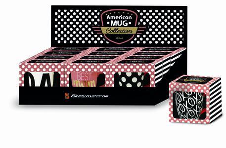 Tazza MUG American Style da 350 ml x supercolazioni