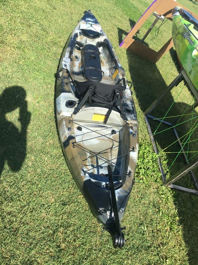 TANCHERO FISHING BIG MAMA KAYAK lunghezza 310 cm con timone +pagaia + seggiolino comfort