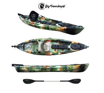 TANCHERO FISHING BIG MAMA KAYAK lunghezza 310 cm con timone + pagaia