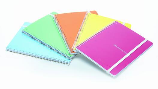 Quaderno con elastico formato A5 CRETA