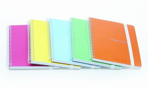 Quaderno con elastico formato A6 CRETA