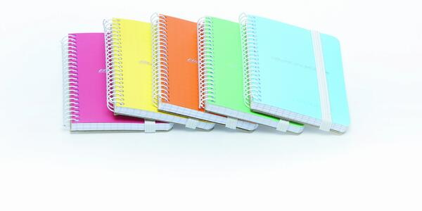 Quaderno con elastico formato A7 CRETA
