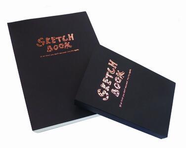 Quaderno rilegato SKECTH BOOK copertina morbida 120 pagine da 100 gr./mq.