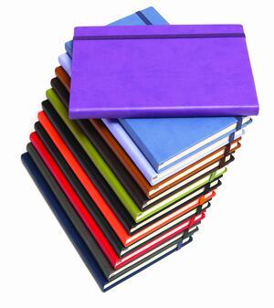 Quaderno con elastico, copertina morbida IPAD neutro o rigato