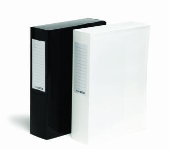 Scatola Archivio dorso 8 cm BLACK & WHITE