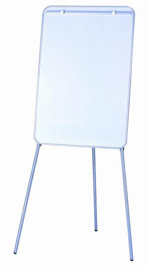 Lavagna magnetica bianca a fogli mobili su cavalletto regolabile in altezza - 70x100 cm