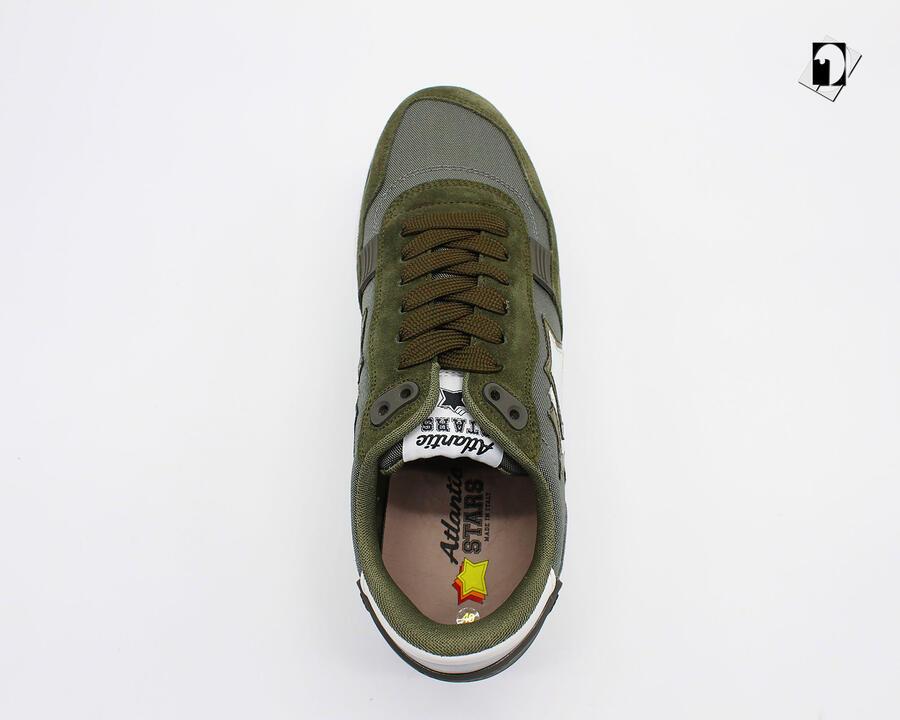 Sneakers Atlantic Stars Pegasus da Uomo verde militare CA J04