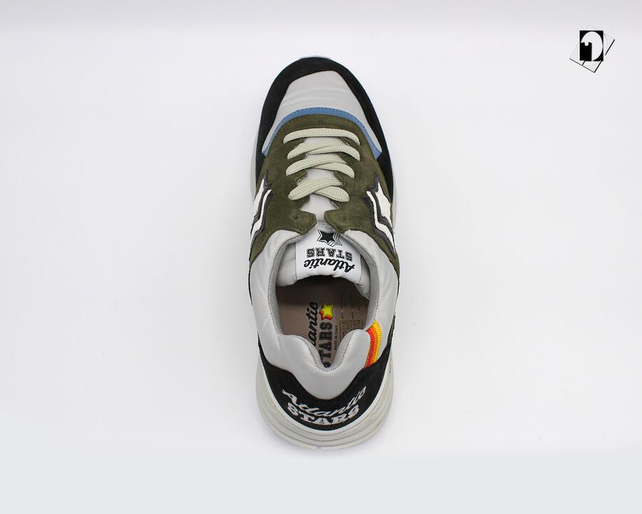 Sneakers Atlantic Stars Polaris da Uomo Blu notte F19-Phantom