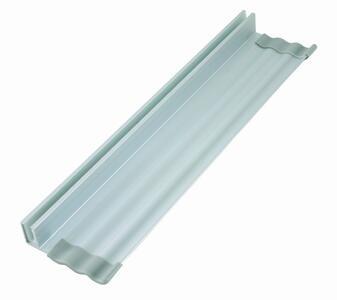 Vaschetta in alluminio portaoggetti per lavagne in vetro