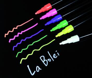 Marker Pennarello per lavagne blister da 3 colori FLUO