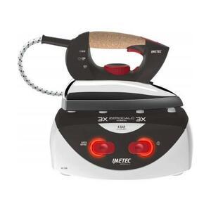IMETEC Ferro da Stiro con Caldaia PS1 2200 Potenza 2100 Watt Colore Bianco / Nero
