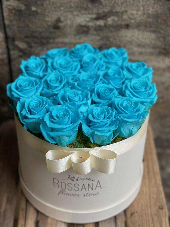 FLOWER BOX T18 Rossana Collection TURCHESE