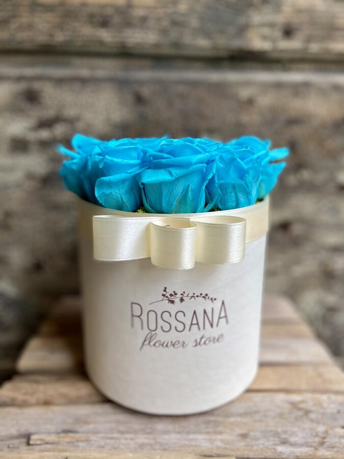 FLOWER BOX T12 Rossana Collection TURCHESE